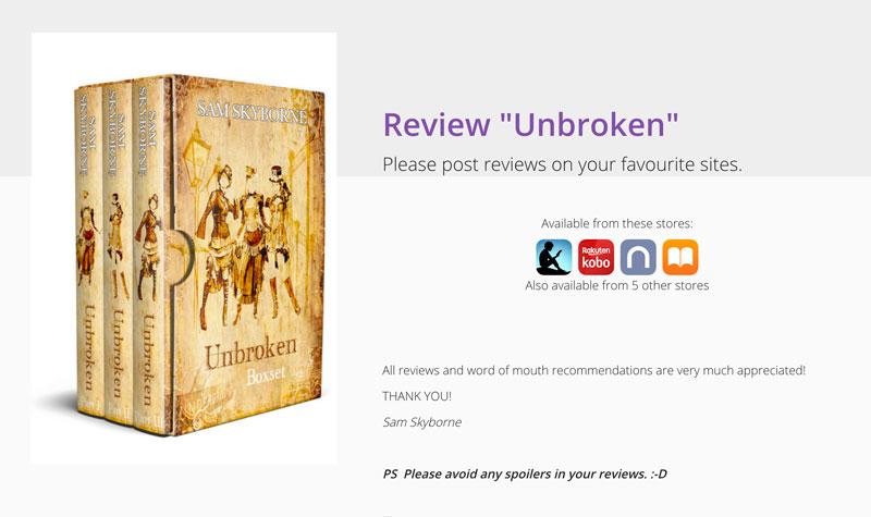 UnBroken Boxset Review